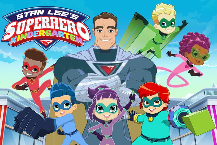 Characters from 'Stan Lee's Superhero Kindergarten.'