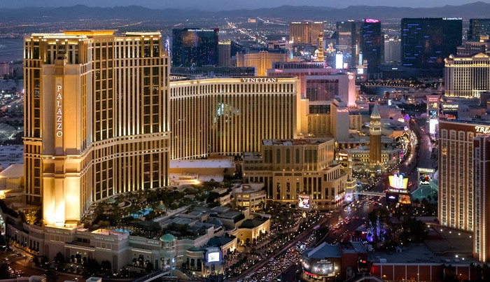 The Venetian Resort Las Vegas is comprised of three all-suite towers: the Venetian, the Palazzo, and the Venezia.