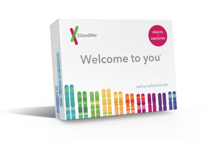 23andMe saliva collection kit