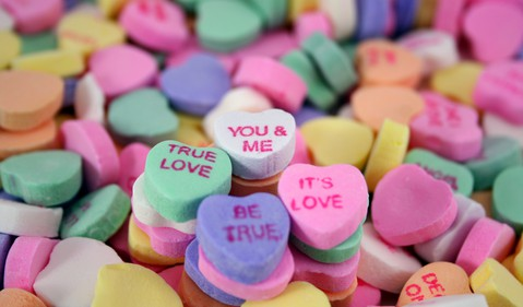 Candy Sweethearts Love Invest Valentines Day Getty