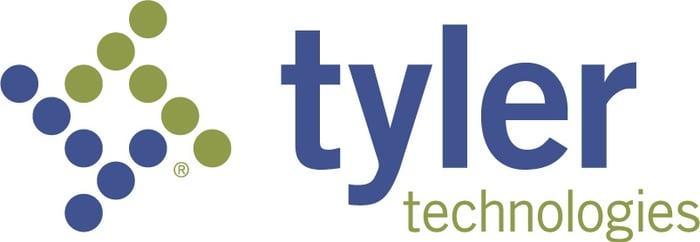 Logo of Tyler Technologies.