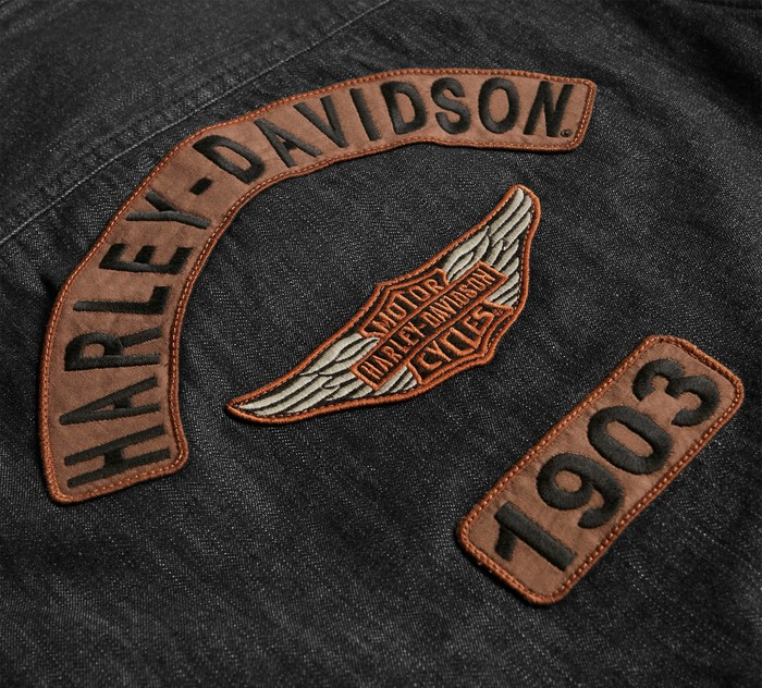 Harley-Davidson denim jacket