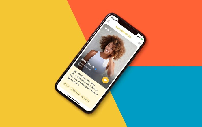Bumble's mobile app.