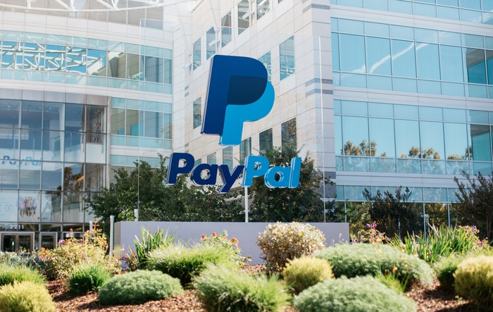PayPal headquarters in California.
