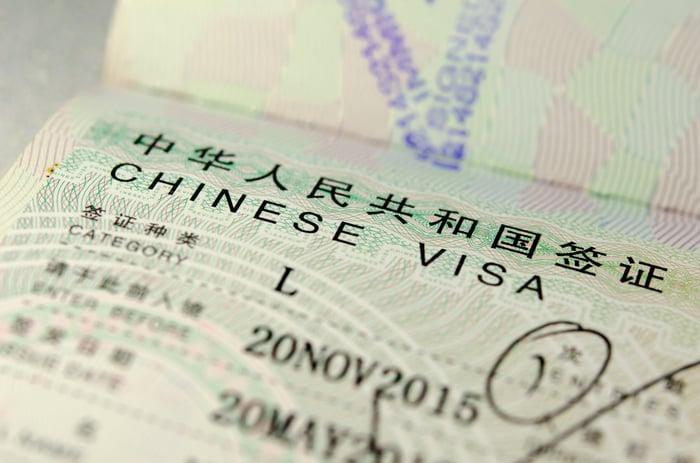 Chinese visa