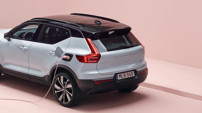 Volvo plug-in hybrid electric SUV