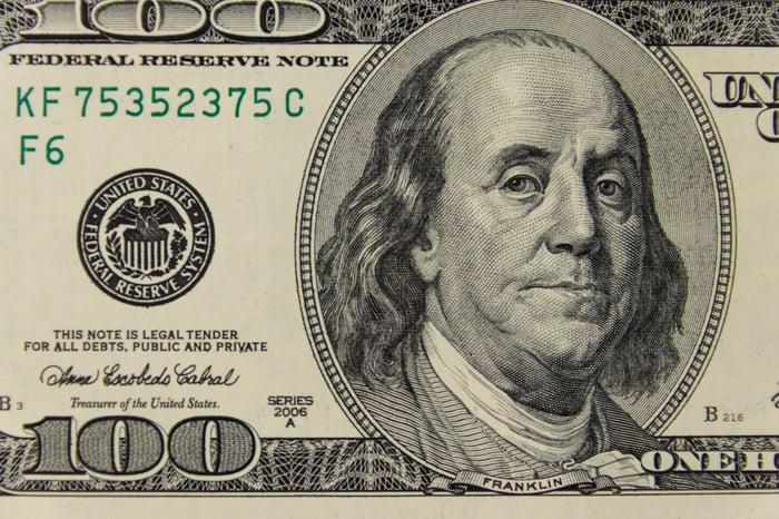 $100 bill.