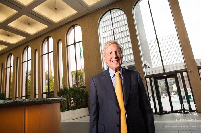 M&T Bank chairman and CEO from 1983-2017, Robert Wilmers.