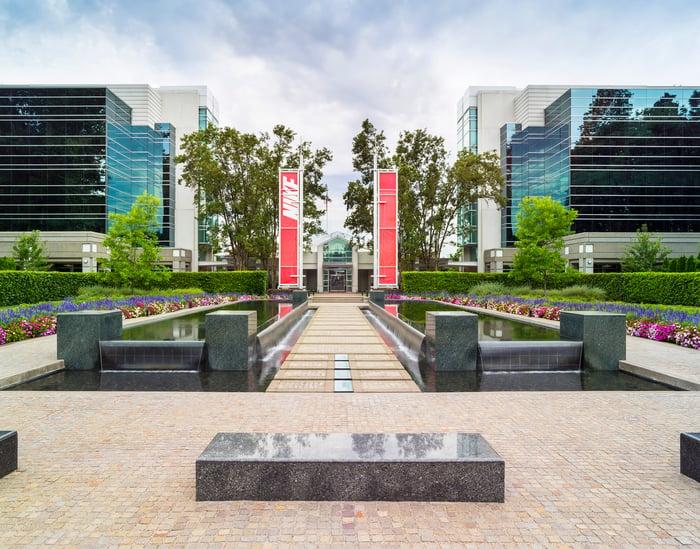 Nike's corporate headquarters