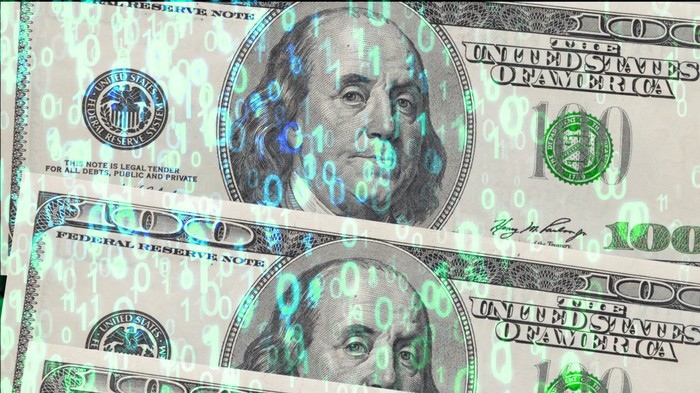 $100 bills.