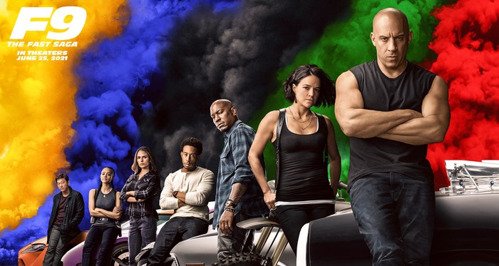 Fast & Furious 9 movie poster