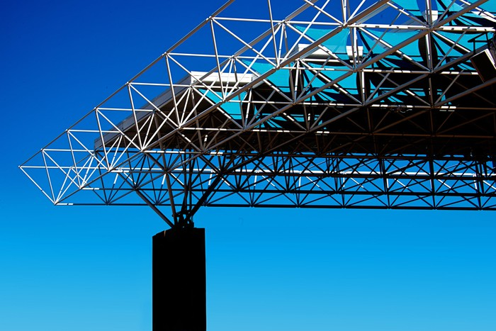 A space truss