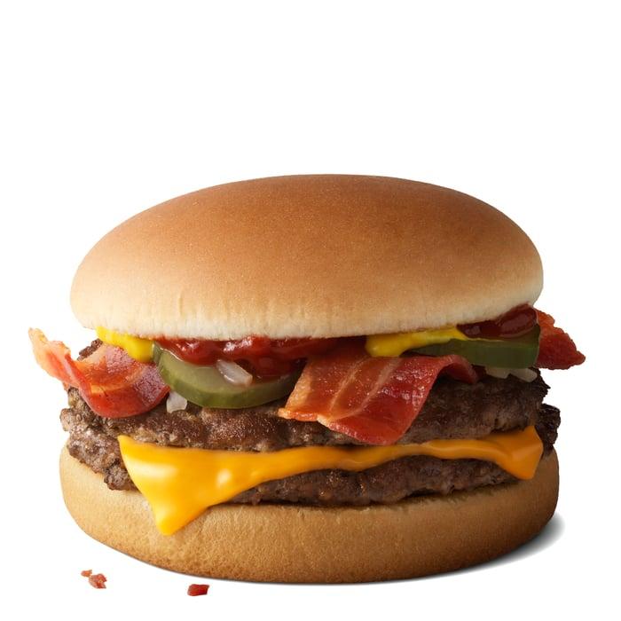 McDonalds bacon mcdouble