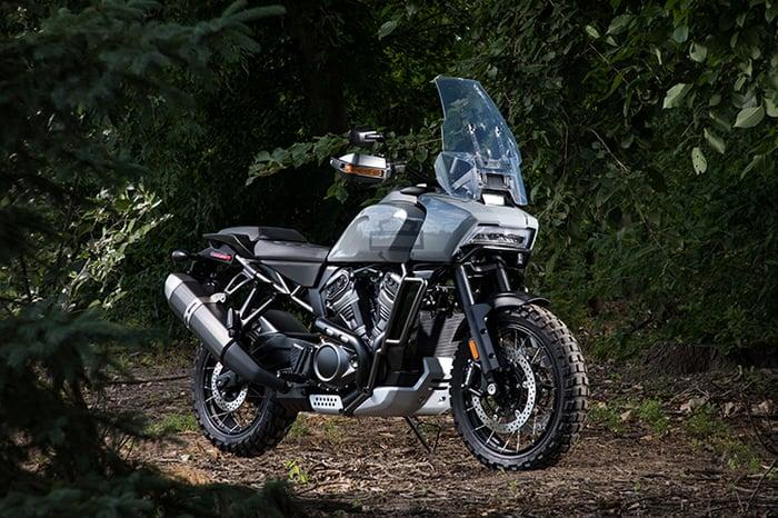 Harley-Davidson Pan America adventure touring motorcycle