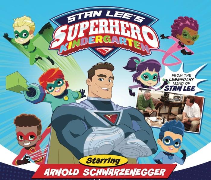 Stan Lee's Superhero Kindergarten animated TV series.