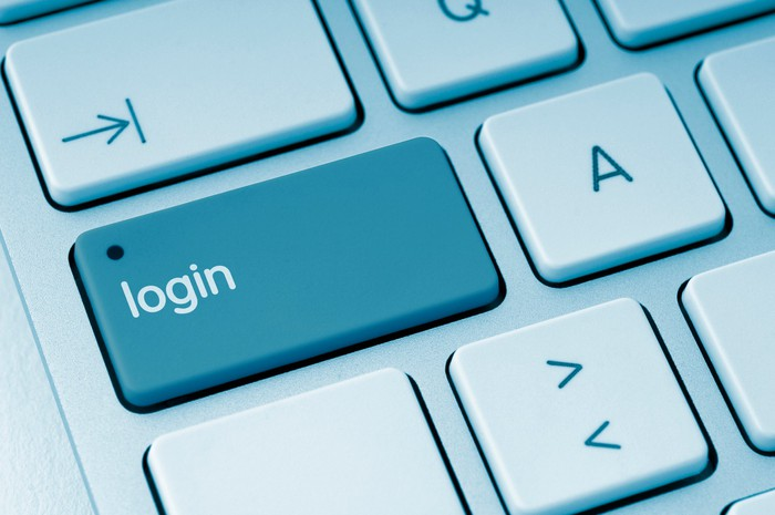 Login key on keyboard
