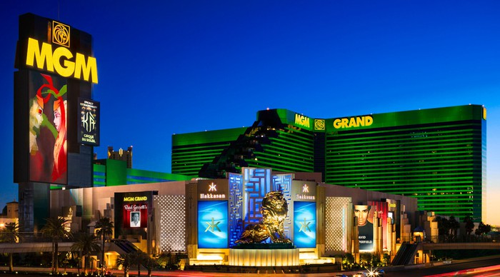 MGM Grand casino in Las Vegas