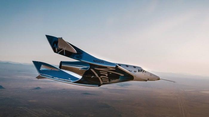 Virgin Galactic spaceplane