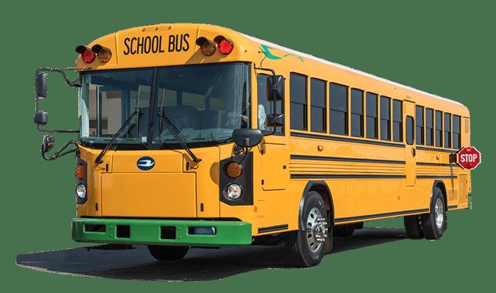 Blue Bird electric school bus