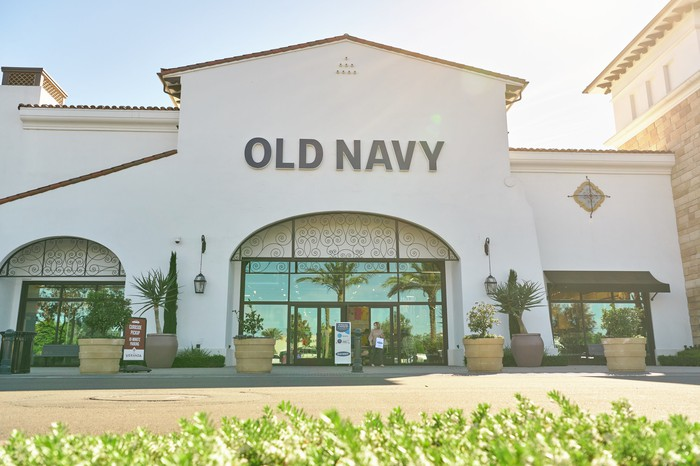 The exterior of an Old Navy store.