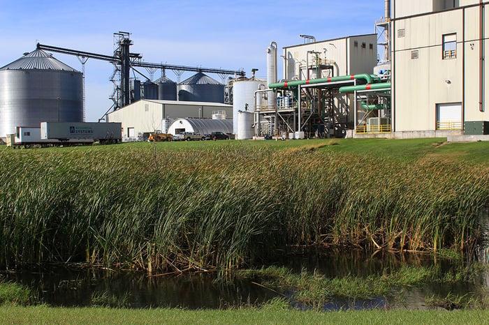 A Gevo renewable energy plant.