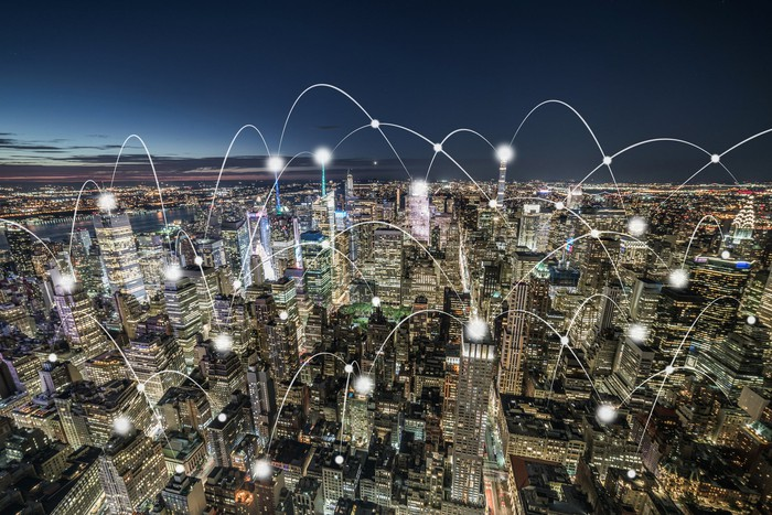 IoT connected buildings