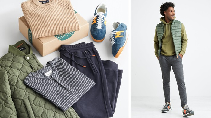 A person wearing an outfit styled by Stitch Fix.