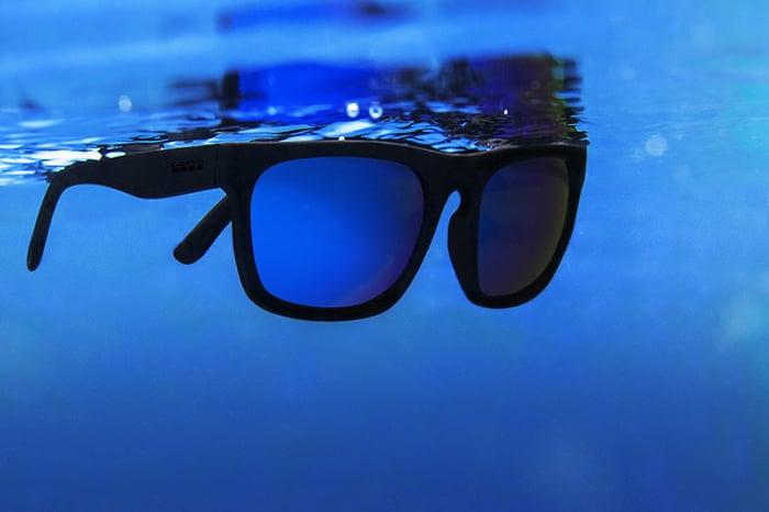 GoPro's floating Mezcal sunglasses.
