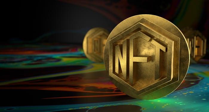 NFT token representing Ethereum blockchain.