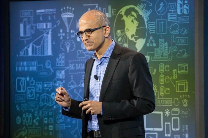 Satya Nadella, director ejecutivo de Microsoft.