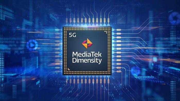 MediaTek's Dimensity chip.
