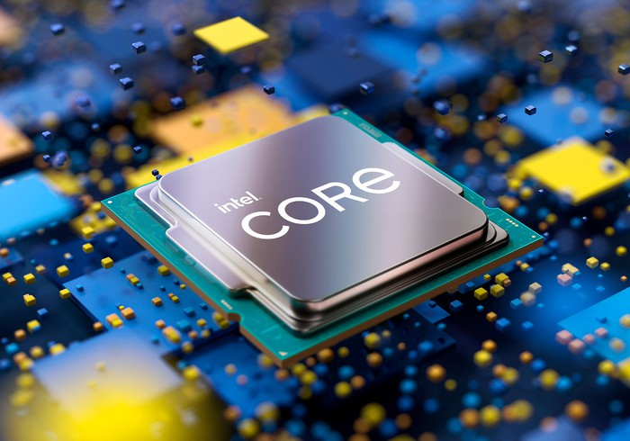 a product shot shows the 11th generation Intel Core S-Series S-Series desktop processor