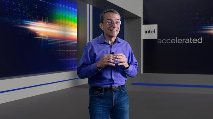 Intel CEO Pat Gelsinger.
