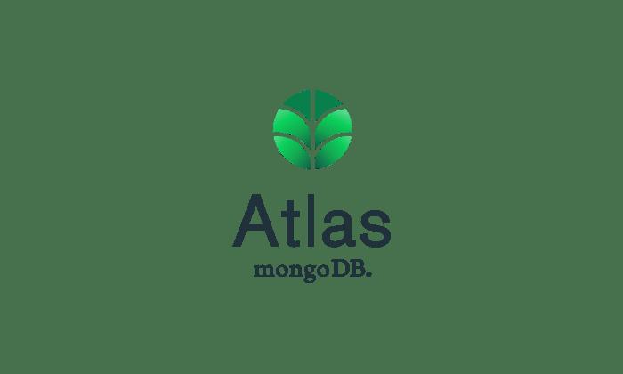 The MongoDB Atlas logo.