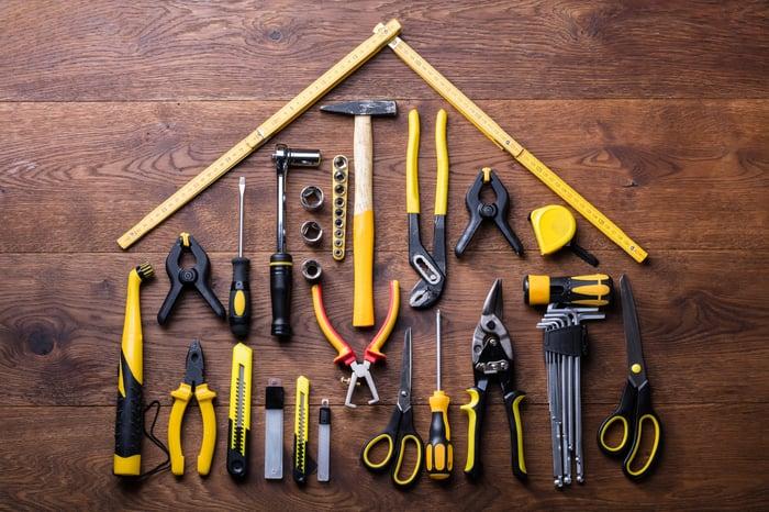 DIY tools.