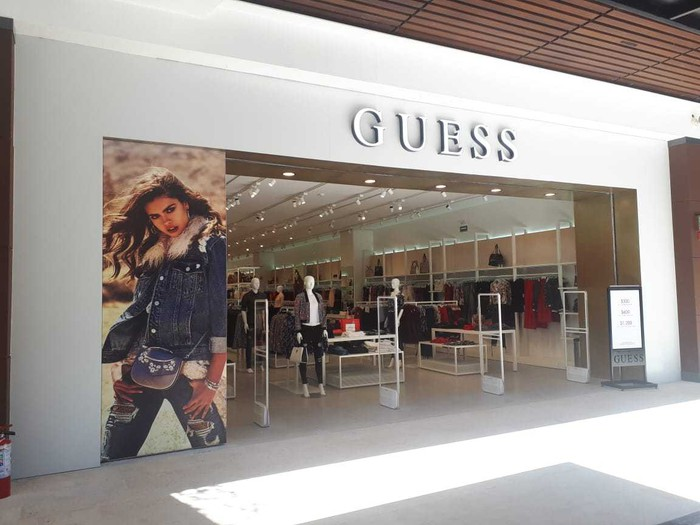 Guess storefront