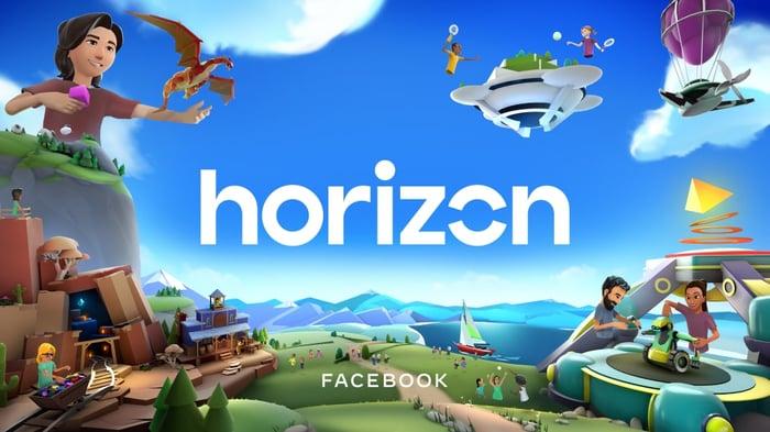 Facebook Horizon banner ad.
