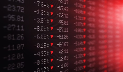 Stock Market down - GettyImages-1028826884