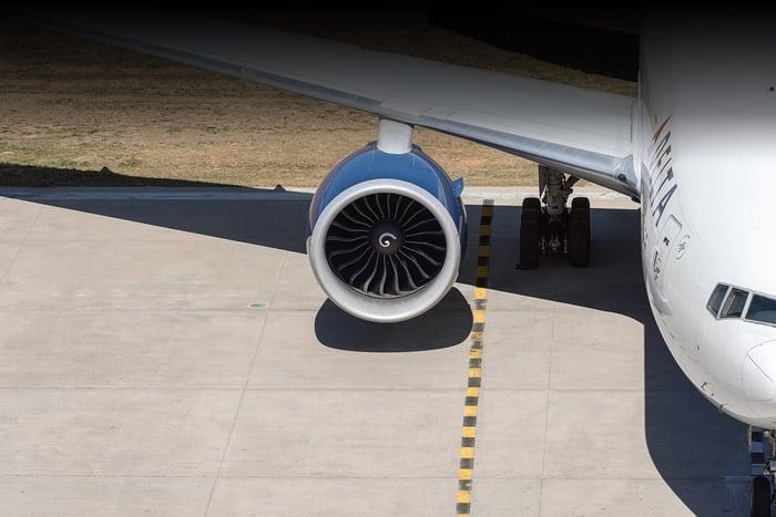 A Delta plane on the tarmac.