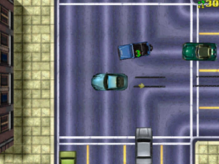 The Original Gta Not The Prettiest Of Graphics Even For