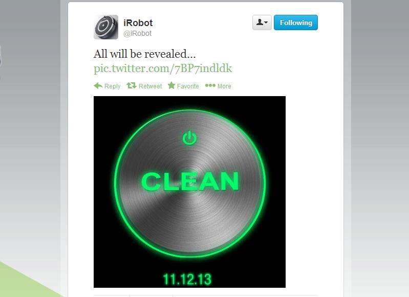 iRobot new Roomba announcement