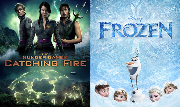 Lionsgate's The Hunger Games: Catching Fire and Disney's Frozen set box office records