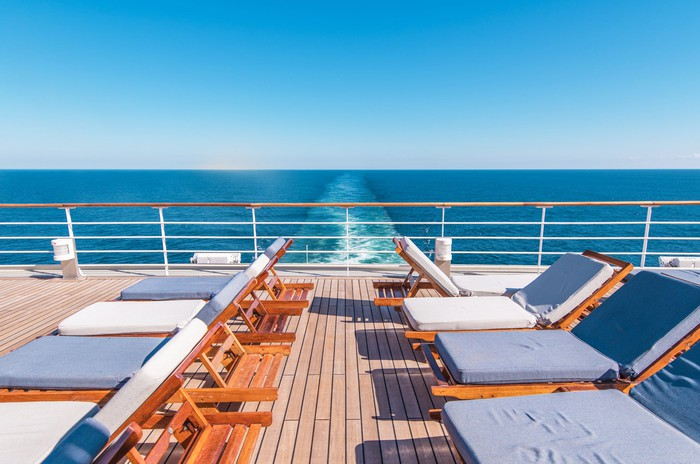 Cruise ship lounge chairs