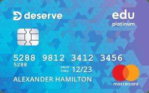 Deserve Edu Mastercard for Students