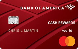 Bank of America® Cash Rewards credit card