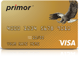 Primor® Visa Gold Card by Green Dot