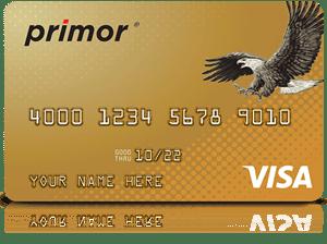 Primor® Visa Gold Card by Green Dot