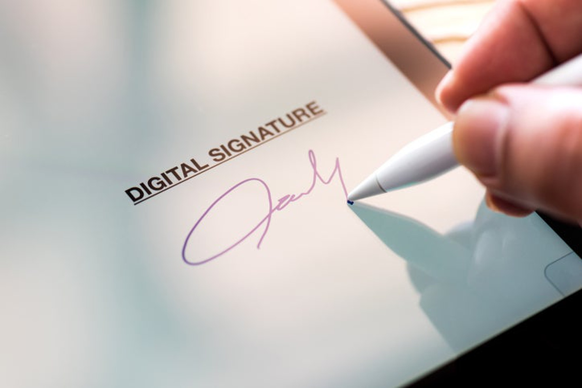 Storage Forms now Signed Electronically