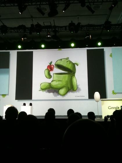 Androideatsapple