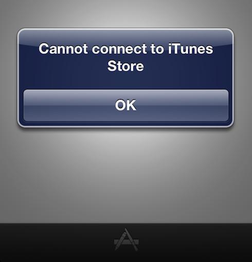 Itunes Store Connect Error